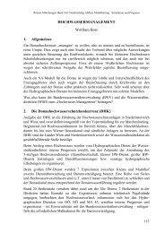 HOCHWASSERMANAGEMENT Wolfram Bors 1. Allgemeines 2. Die ...