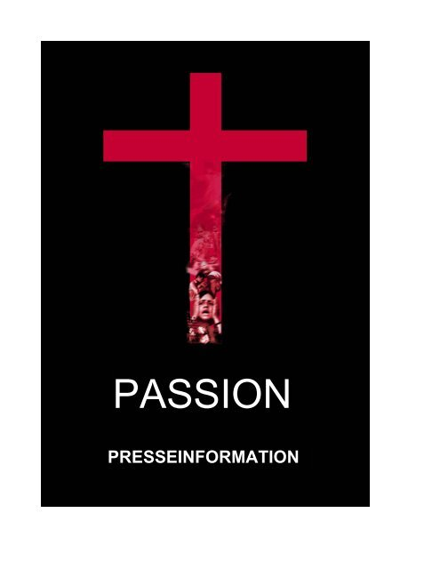 """Presseinformation """"Passion"""" - bei Planet Musical"""