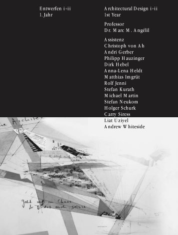 PDF Jahrbuch 2003 ETH Zürich