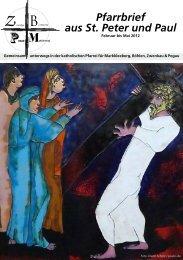 4. Ausgabe - Katholische Pfarrei St. Peter und Paul Markkleeberg