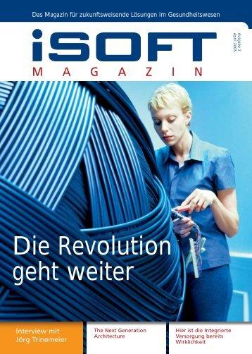 Ausgabe 2, April 2005 - iSOFT