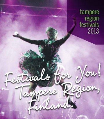 tampere region festivals 2013