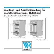 Montage- und Anschlußanleitung für ... - Betting und Buss Gbr