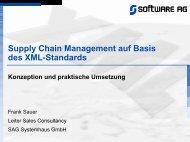 Supply Chain Management auf Basis des XML-Standards