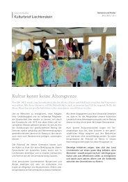 Ausgabe EINS/2012 - Regierung des Fürstentums Liechtenstein