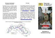 Microsoft Word - Faltblatt Regen.doc - Regierung der Oberpfalz ...