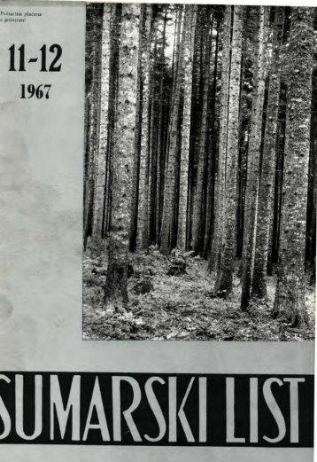ŠUMARSKI LIST 11-12/1967