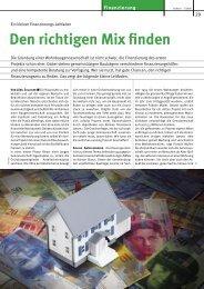 PDF-Dokument/432KB - Wohnbaugenossenschaften Schweiz