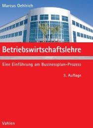 Leseprobe zum Titel: Betriebswirtschaftslehre - Die Onleihe