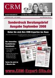 Sonderdruck Beratungsbrief Ausgabe September ... - Crystal Partners