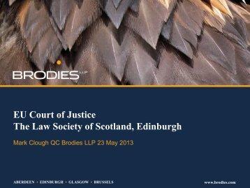 Slides - Law Society of Scotland
