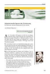 Reinhard Ehgartner: Geheimnisvolle Spuren der ... - Lebensspuren