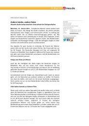 ersten Ergebnisse der Studie - neu.de Presse