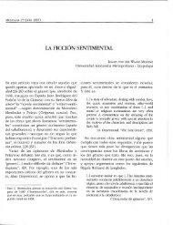LA FICCION SENTIMENTAL - Páginas Académicas