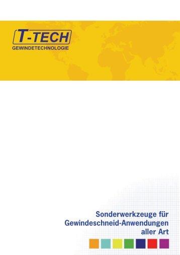 Sonderwerkzeuge für Gewindeschneid ... - T-tech.co.uk