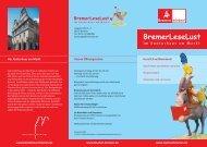 Herzlich willkommen! - BremerLeseLust - Bremen