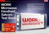 WORK Microwave Handheld Satcom Test Source