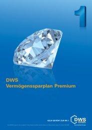 DWS Vermögenssparplan Premium - Deutsche Direktanlage AG