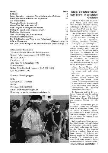 Klassenkampf No. 31 - Internationale Sozialisten