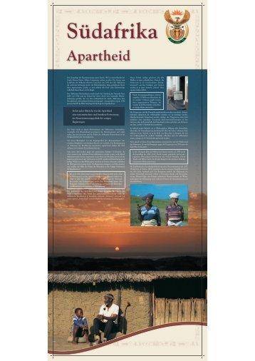 Die Apartheid - Hand in Hand – Afrika