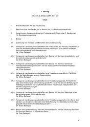 1 1. Sitzung Mittwoch, 5. Oktober 2011, 9:04 Uhr ... - Land Salzburg