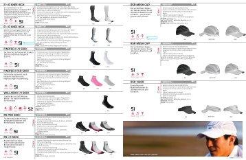 Running Katalog FS-2012 Accessoires - Laufsport Heinz