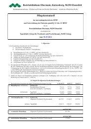 Pflegekostentarif - Kommunalunternehmen Kliniken und Heime des ...