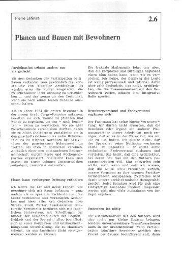 2.6 Planen und Bauen mit Bewohnern - Urbanes Wohnen e.V.
