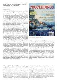 die chinesische Armada auf dem Weg ins 21. Jahrhundert