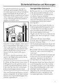 Gebrauchsanweisung - Miele - Seite 7