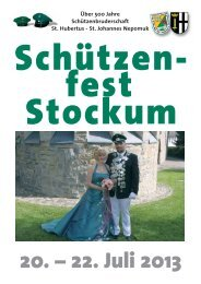 20. – 22. Juli 2013 - St. Hubertus – St. Johannes Nepomuk ...