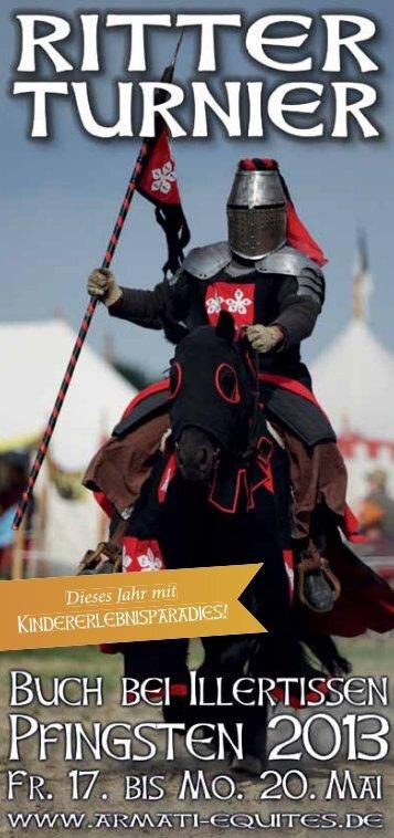Flyer zum Ritterturnier - Armati Equites