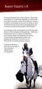Flyer zum Ritterturnier - Armati Equites - Seite 2