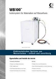 320474G , WB100 Isoliersystem für Materialien auf ... - pinex