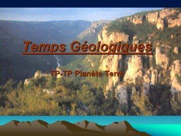 TP6 Temps géologiques