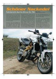 Aprilia Shiver 750 - Kultourbikes.de
