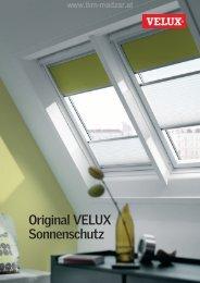VELUX Sonnenschutz Katalog - TKM Klaus Madzar - TKM Fenster