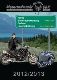 Katalog 2013 online - SCORP24 - Motorradmarkt GbR