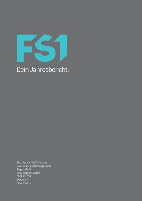 Jahresbericht 2012 - FS1