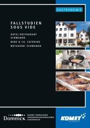 FALLSTUDIEN SOUS VIDE - Hotel - Restaurant Schwanen