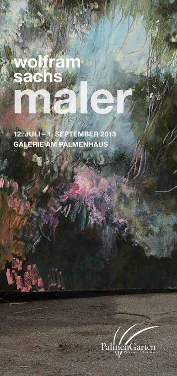 Flyer zur Ausstellung zum download - Palmengarten