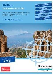 Sizilien_Reiseprogramm - Ihre Allgäuer Zeitung
