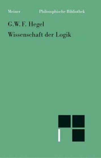 Georg Hegel Wissenschaft der Logik 1812 - new Sturmer