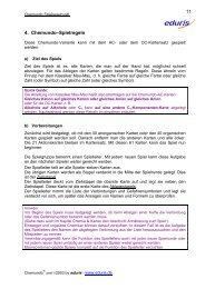 4. Chemundo–Spielregeln 11