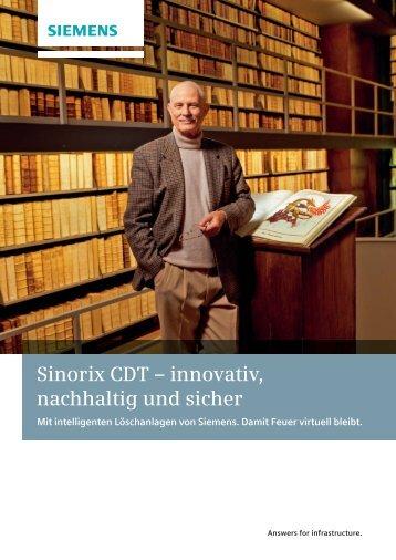 Sinorix CDT - Siemens Building Technologies