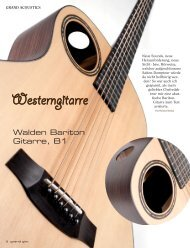 Walden Bariton Gitarre B1 - MUSIC STORE professional