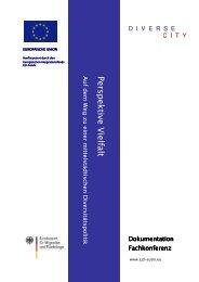 Dokumentation Fachkonferenz - Perspektive Vielfalt - CJD Eutin