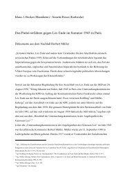 Text - Dr. Klaus Jürgen Becker