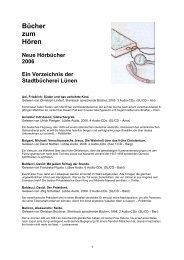 61. hoerbuecher_2006.pdf - Stadt Lünen