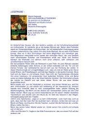 LESEPROBE - - Literaturzirkel
